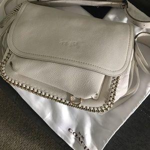 NWOT Coach Dakota Fringe Leather Bag